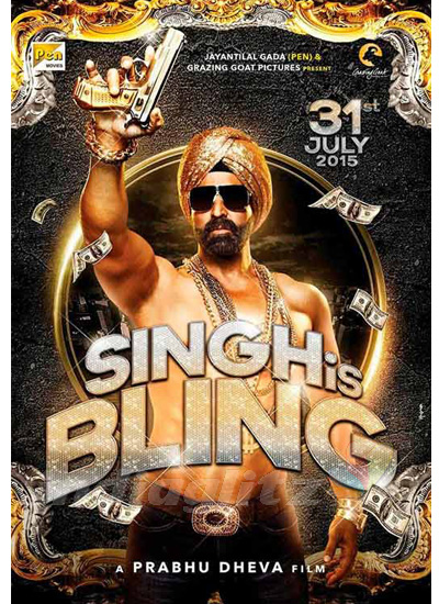 Singh Is Bling 2015 Hindi Official Trailer 720p HD