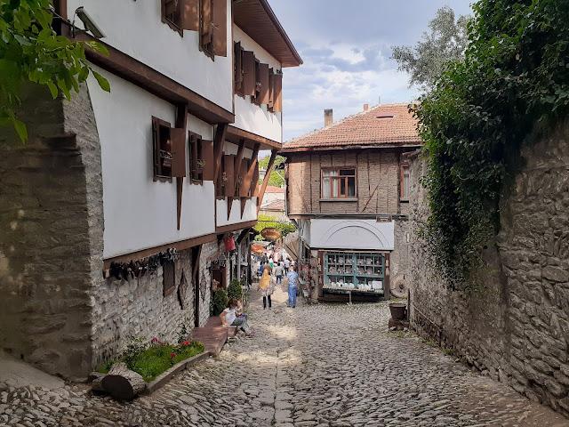 Tarihi Safranbolu evleri ve sokakları...