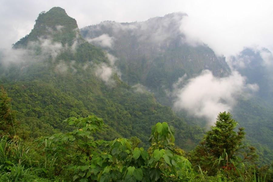 嘉義梅山 - 寒溪呢森林人文叡地 - 眺望巍然聳立於雲間的聖塔山 :: 阿舍的精彩生活