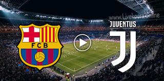 مشاهدة مباراة يوفنتوس وبرشلونة بث مباشر بتاريخ 28-10-2020 في دوري أبطال أوروبا