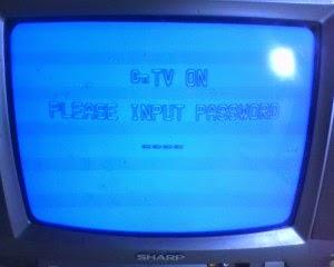 Cara Mengatasi TV Sharp Minta Password