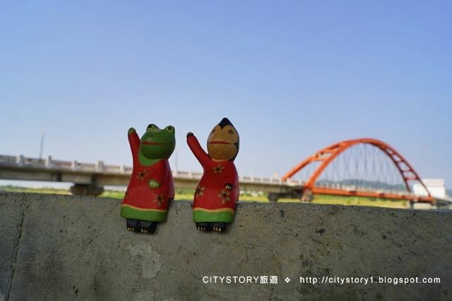 【南投景點一日遊】日紅橋夜七彩光雕-南投市綠美橋 - CITYSTORY旅遊