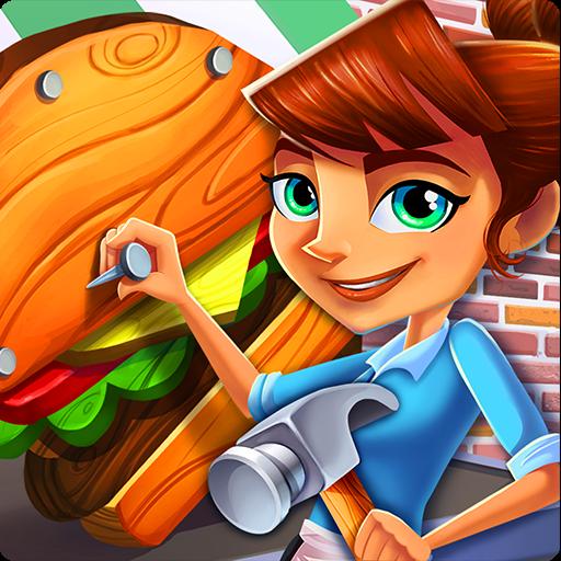 Diner DASH Adventures - VER. 1.10.7 Unlimited (Coins - Hearts) MOD APK