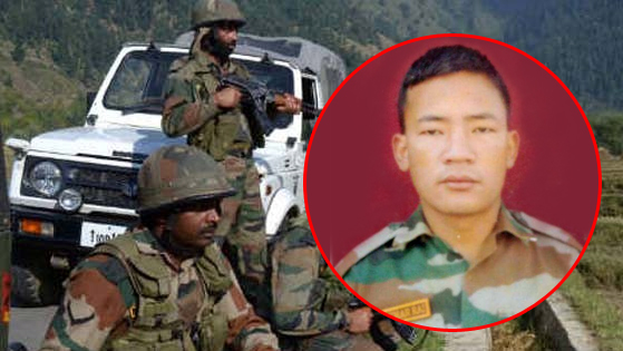 Arun Kumar Rai, a 1/3 Gorkha Rifles martyred fighting Militants in LoC Kashmir