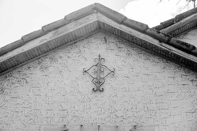 Casa na Rua São Sebastião - detalhe ornamento de ferro