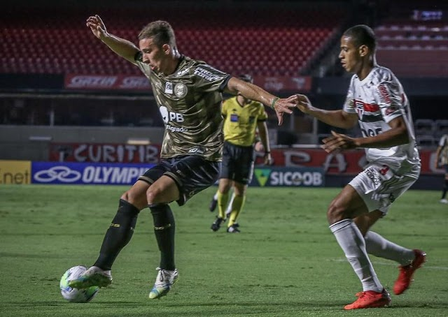 ESPORTE | BRASILEIRÃO - São Paulo empata em casa e perde a chance de reassumir a liderança do campeonato.