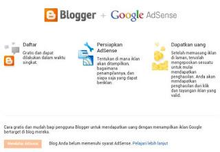 Adsense Via Blogspot