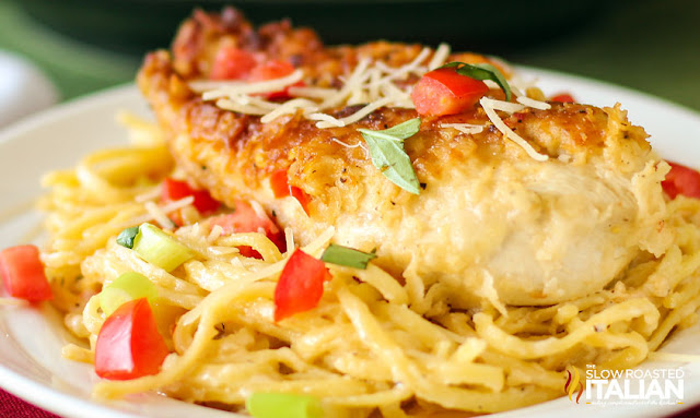 http://www.theslowroasteditalian.com/2012/10/chicken-parmesano-vino-bianco-in-30.html