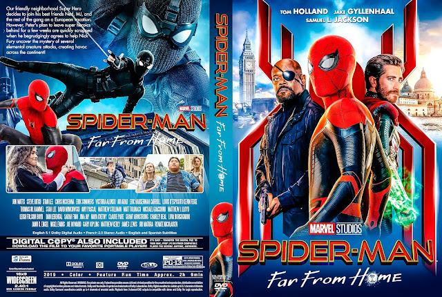 Spider-Man Far from Home DVD Cover