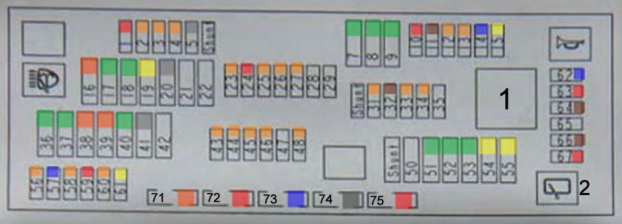 Beemer Lab  Bmw F10    F11    F07  Fuse Box Diagram