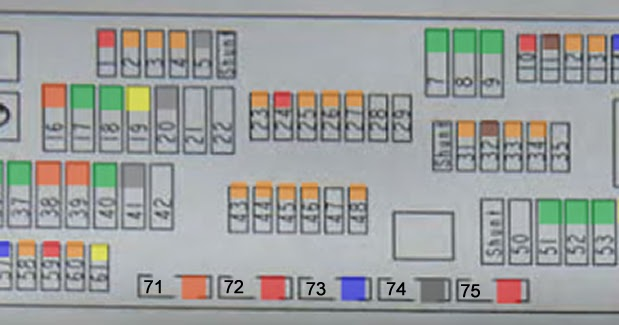 Beemer Lab: BMW F10 / F11 / F07: FUSE BOX DIAGRAM - Detailed with all  Definitions | Bmw Fuse Box Problem |  | Beemer Lab