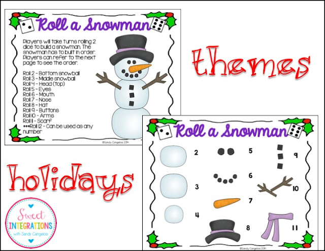 Educational Games with holiday themes