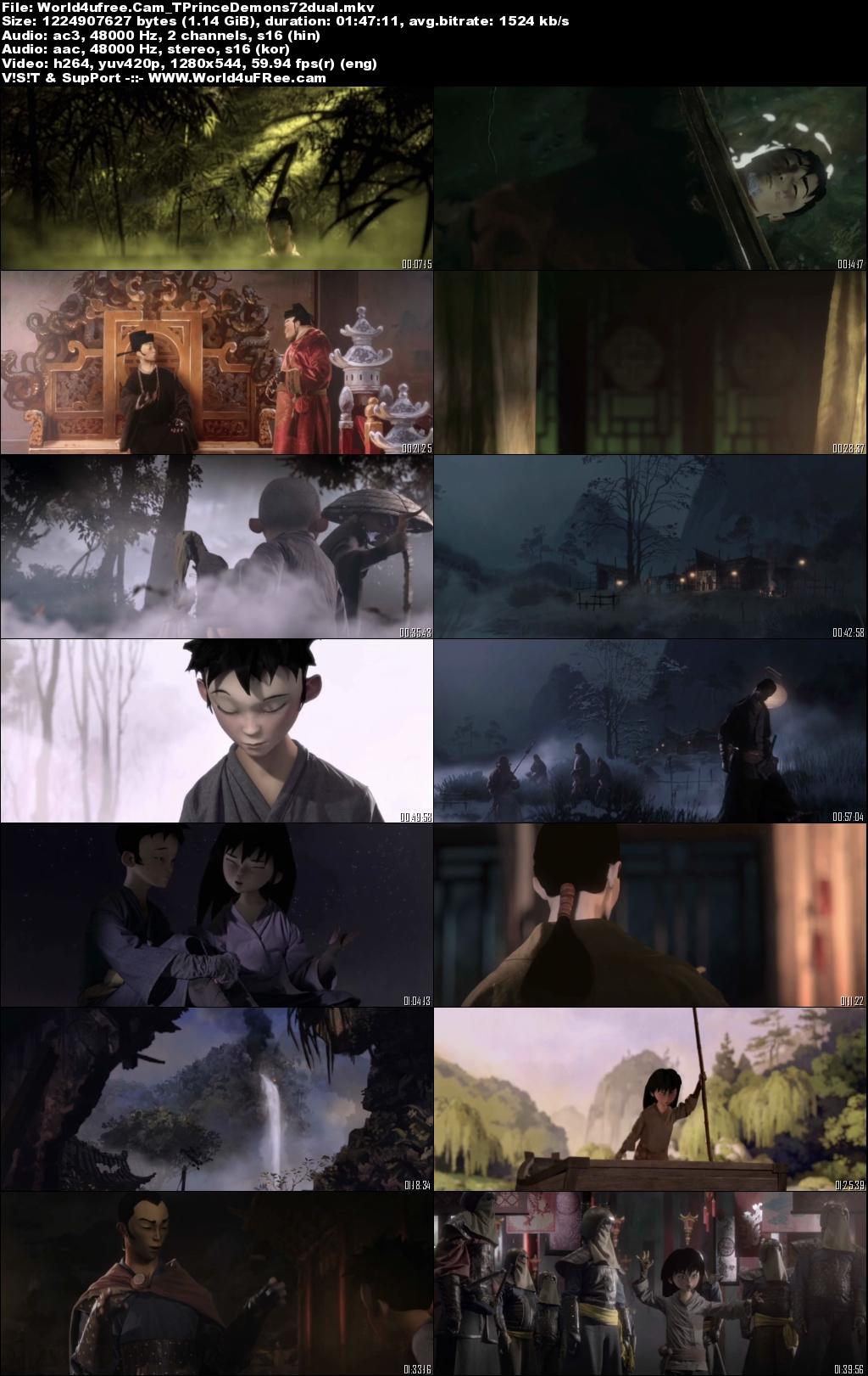 The Prince and the 108 Demons (2014) Dual Audio 720p | 480p WEBRip x264 [Hindi – Korean] 1.1Gb | 350Mb
