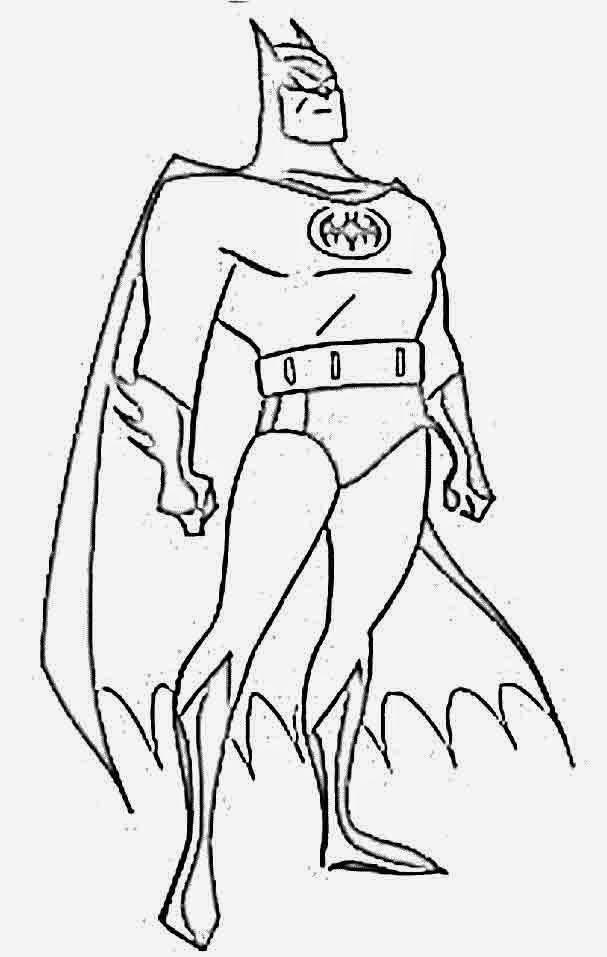 Imagens Para Colorir Batman
