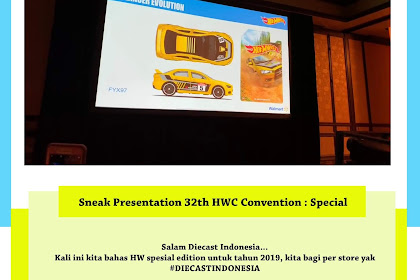Sneak Presentation 32th HWC Convention : Special Asst