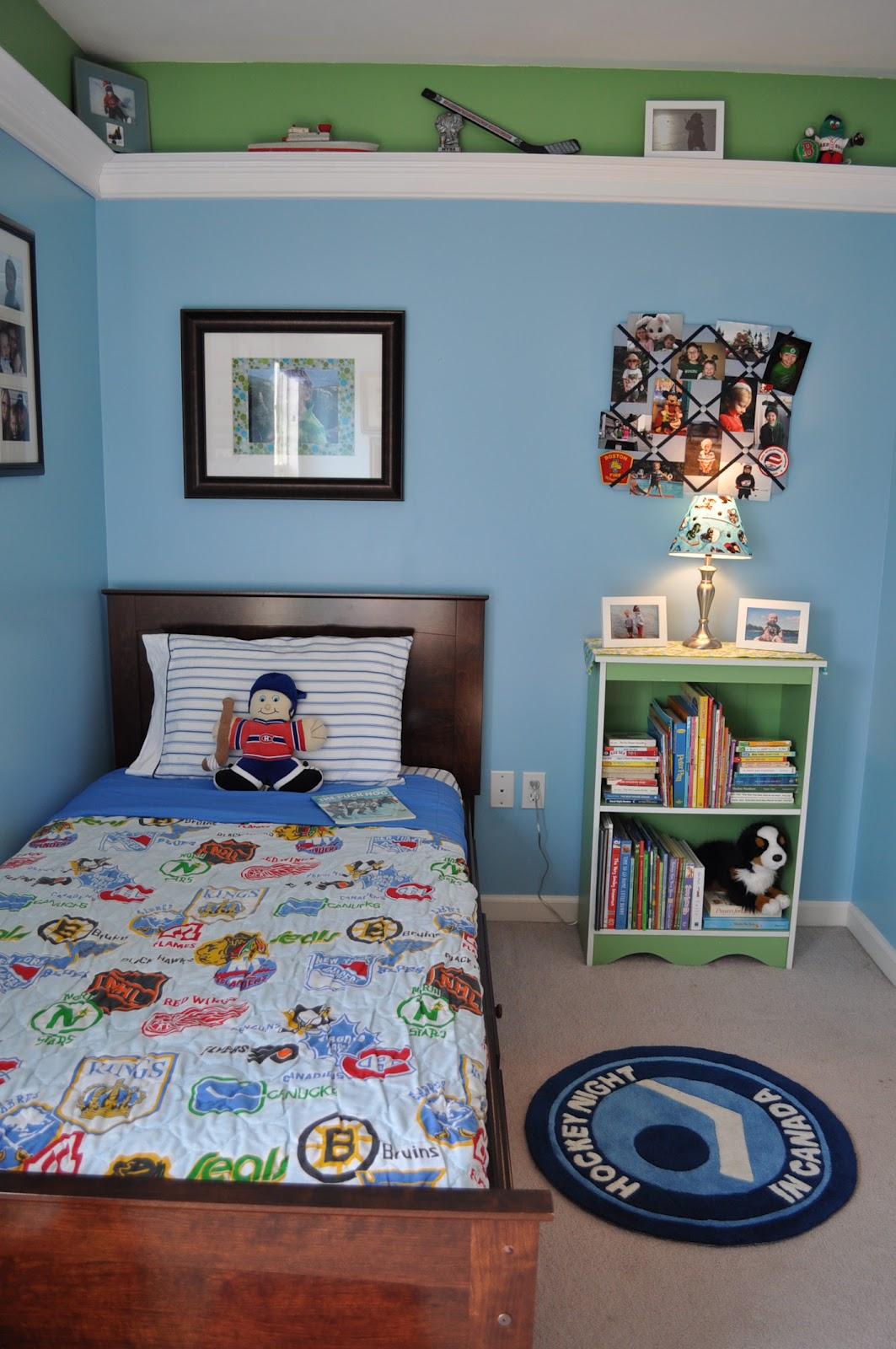 Kids Love Themed Bedroom Sets: Syracuse Hockey Mom's Network: Hockey Room For Kids
