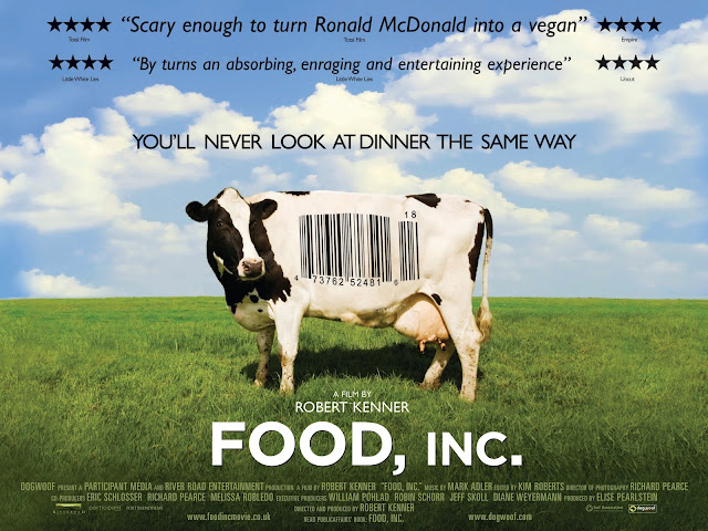 Resenha - Food, Inc: A Sua comida não brota no supermercado ... on