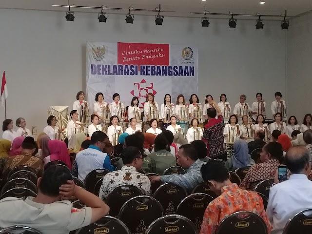 Foki Gelar Deklarasi Kebangsaan Bersama Tokoh Lintas Agama Dan Budaya