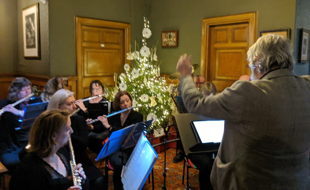 Christmas & Santa at Cragside Review  - Live orchestra playing carols