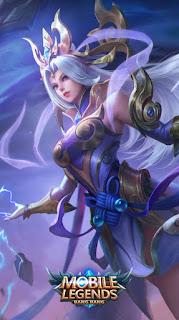 Selena Thunder Flash Heroes Assassin Mage of Skins