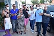 Dirce do Jailson e comitiva cumprem mais uma intensa agenda de visitas aos moradores de Lima Campos