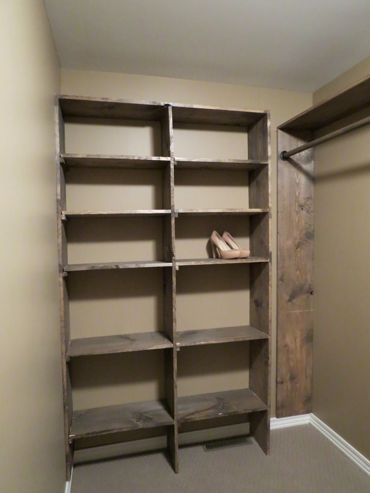 Let S Just Build A House Walk In Closets No More Living Out Of Laundry Baskets