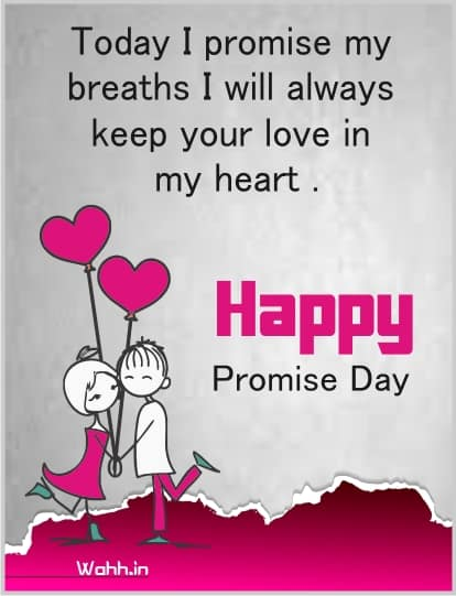 Promise Day Status With Greetings