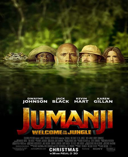 Jumanji Welcome to the Jungle 2017 Dual Audio [Hindi-English] 720p BluRay 1.2GB ESubs