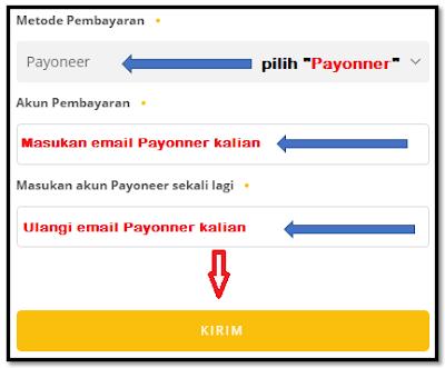menerima pembayaran dari uc news di payoneer