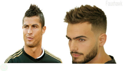 Fauxhawk hairstyle