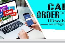 Cara Order Domain di IDwebhost Terbaru