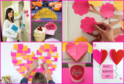 post-it valentines idea ideas