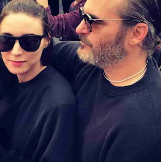 Joaquin Phoenix With Her Wife Rooney Mara