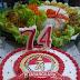 Takjub ! TNI Koramil Yosowilangun Rayakan Hari Bhayangkara 74 di Mapolsek