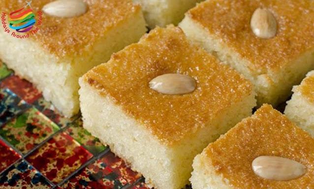 Basbousa - Egyptian Cuisine