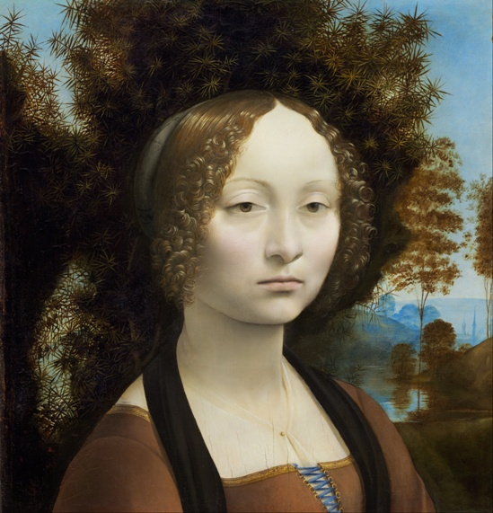 Gineva de' Benci (1476-78)