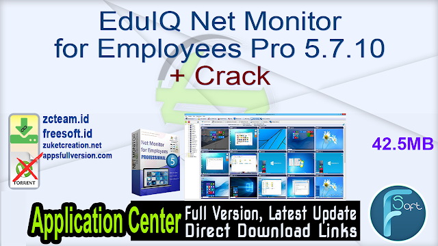 EduIQ Net Monitor for Employees Pro 5.7.10 + Crack