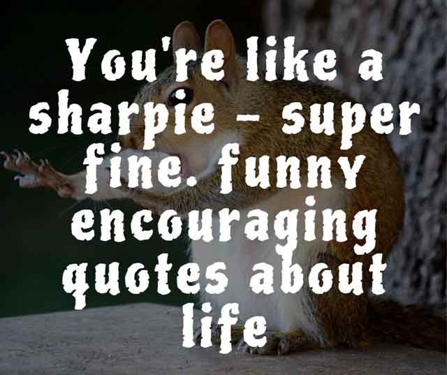 funny encouraging quotes about life