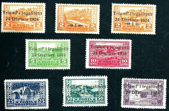 Albania - 1924 Overprint