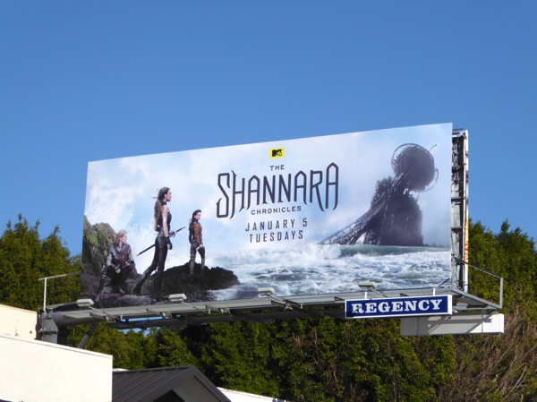 The Shannara Chronicles series premiere billboard