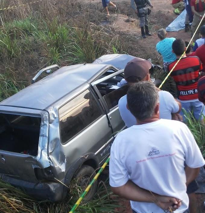 ITABAIANA: Motorista perde controle ao passar em buraco sai da pista e morre, na PB-054. (ATUALIZADO)