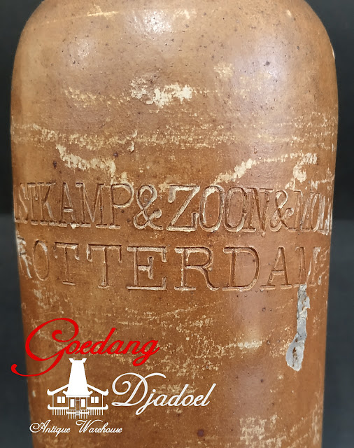 ANTIQUE BOTTLE HULSTKAMP & ZOON & MOLYN ROTTERDAM