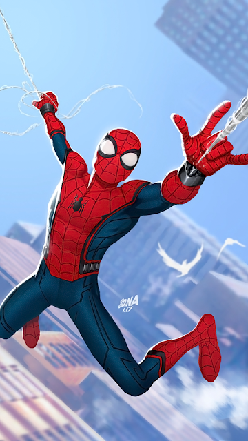 iphone wallpaper marvel spider man
