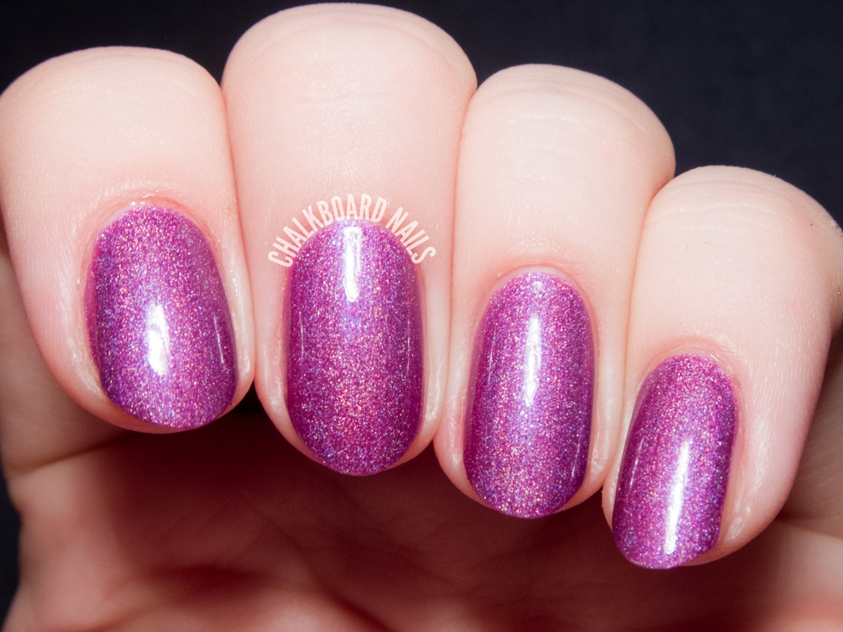Girly Bits Ho Ho Hope via @chalkboardnails