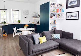 Flat interior and decor, flat interior design ideas, flat furniture and other solutions