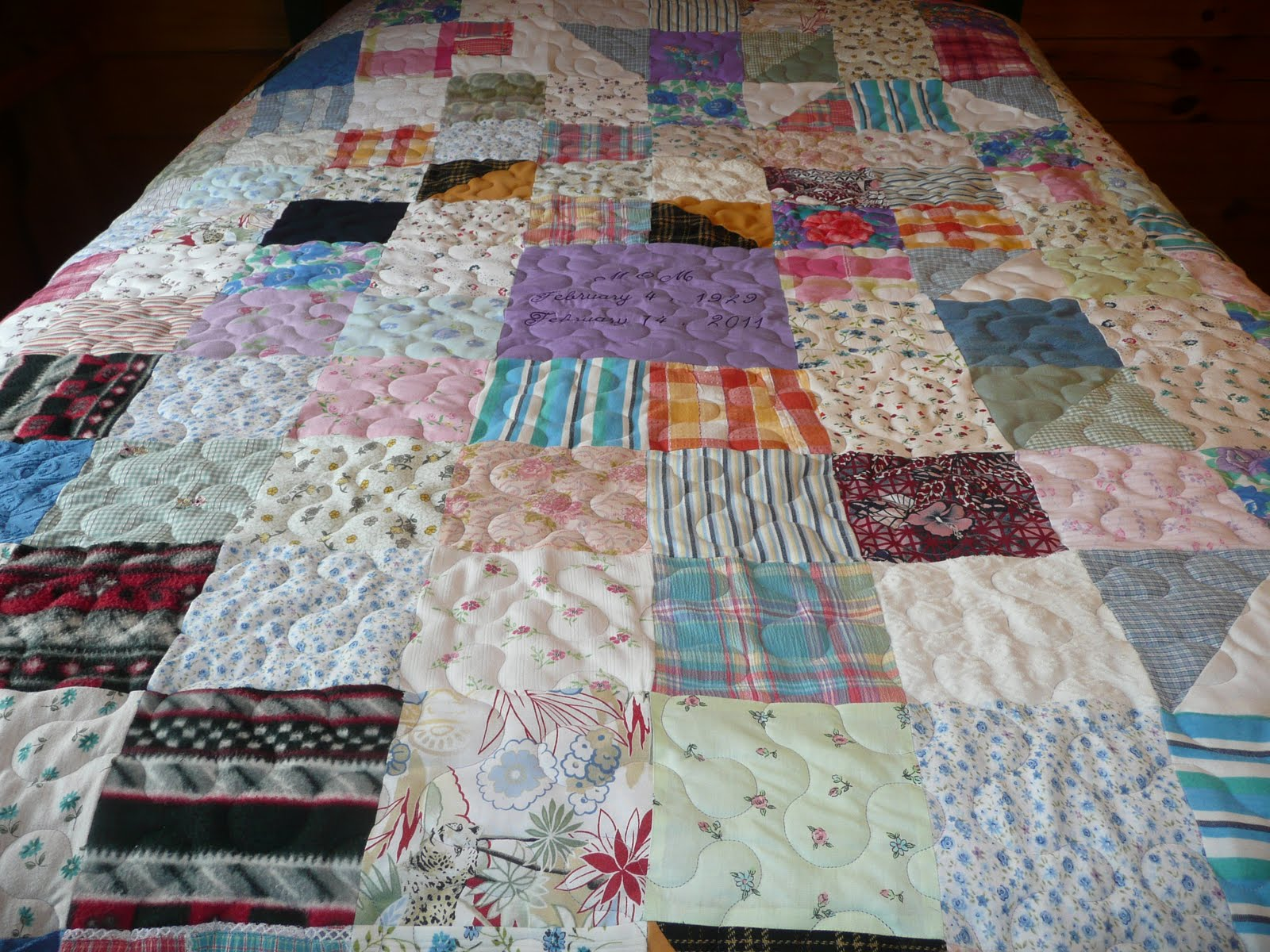 Acorn Ridge Quilting Memory Quilts For Two Sisters
