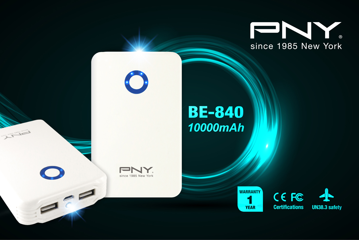 PNY BE-840 Power Bank