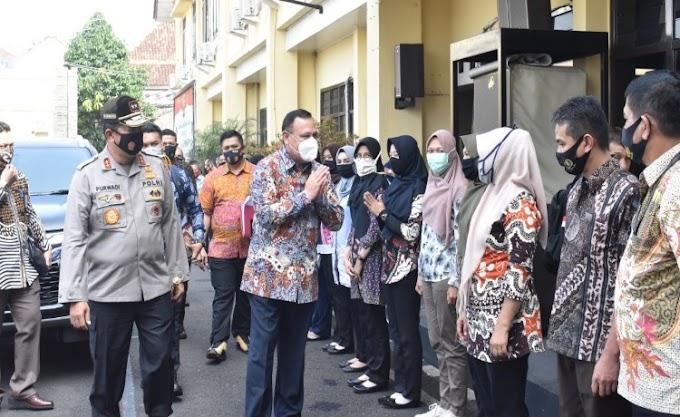 Ketua KPK RI Laksanakan Kunker di Mapolda Lampung