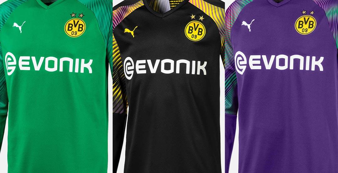 3 Dortmund 19 20 Goalkeeper Kits Released Footy Headlines