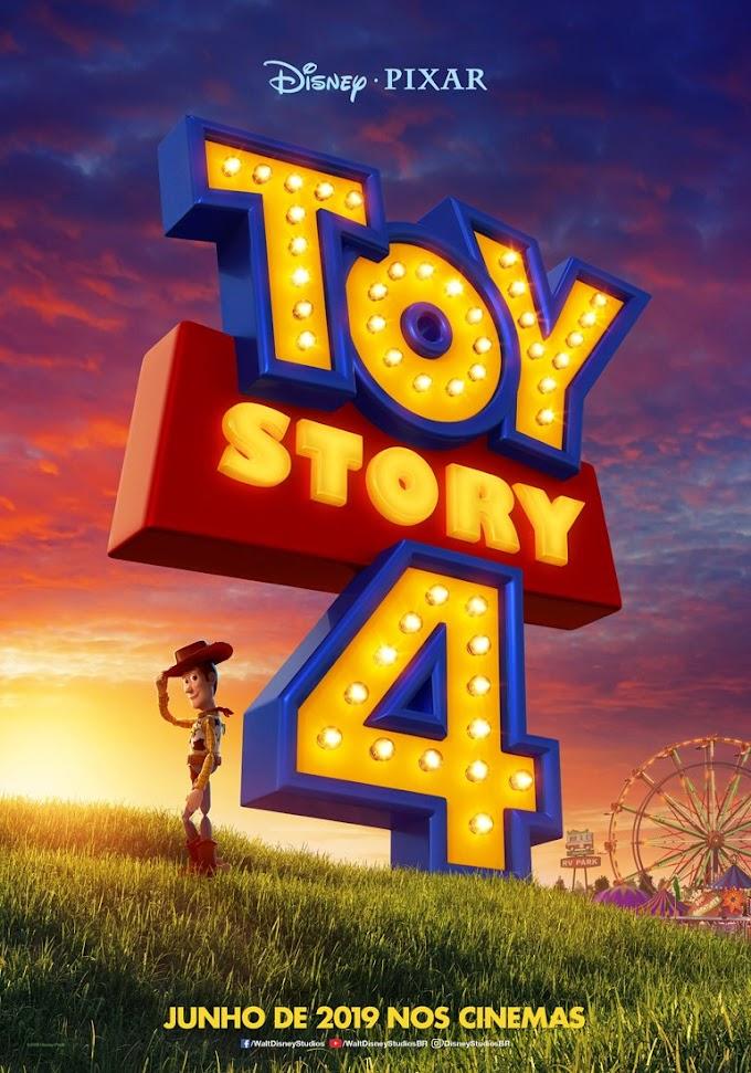 Toy Story 4 | Woody é protagonista no novo poster do filme